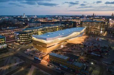 City of Helsinki 20181203 Helsinki Central Library Oodi. Kuvaaja: Tuomas Uusheimo